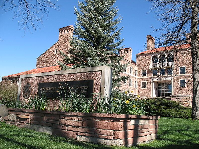 The University of Colorado at Boulder Memorial Center.