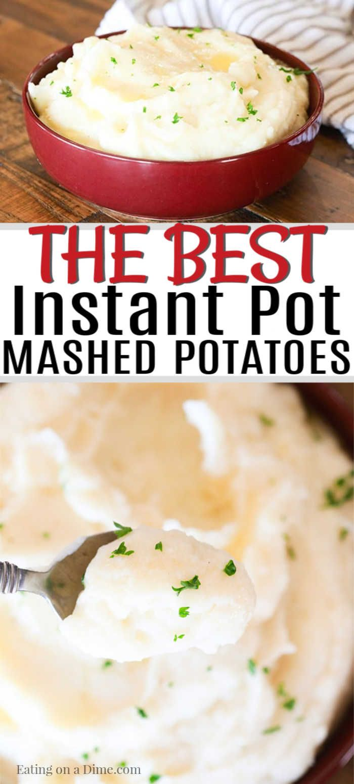 Pressure cooker Mashed Potatoes #russetpotatorecipes