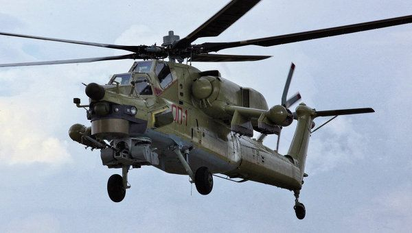 "Mil Mi-28 ""Havoc"". Russian gunship/attack helicopter."