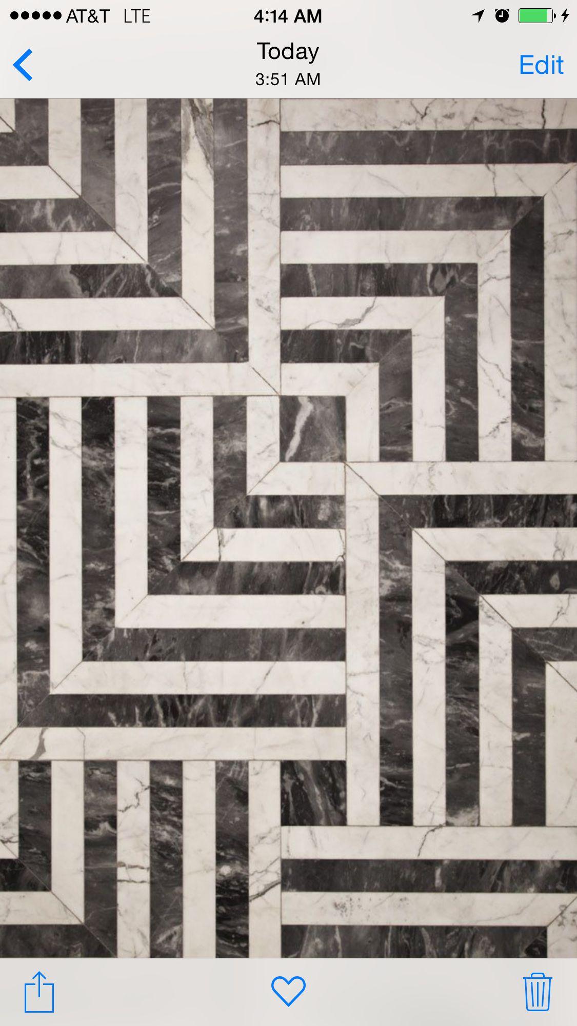 Bardiglio marble 4x16 Bianco Venatino 4x16 pattern