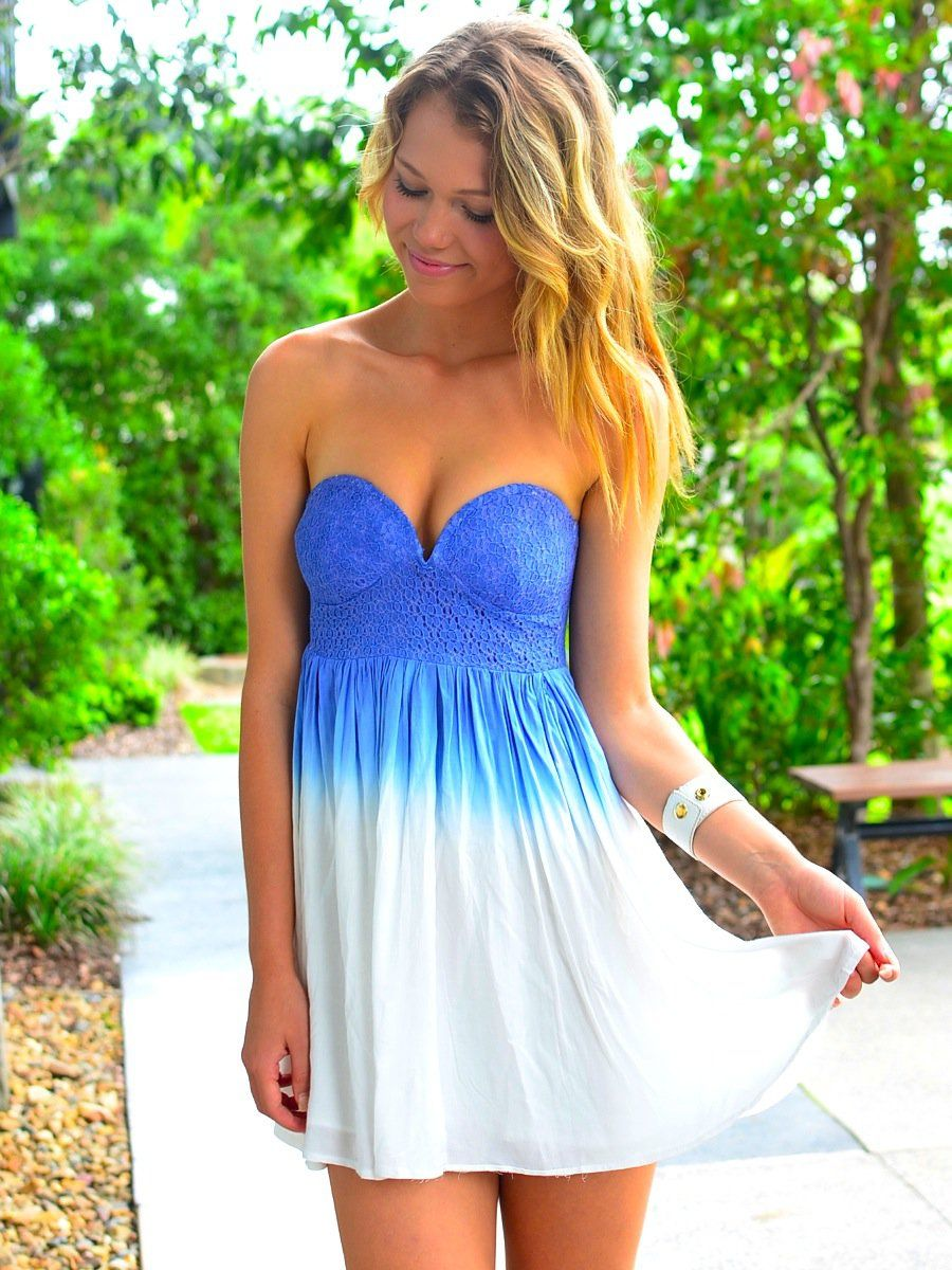Summer dress style pinterest clothes ombre and dream closets
