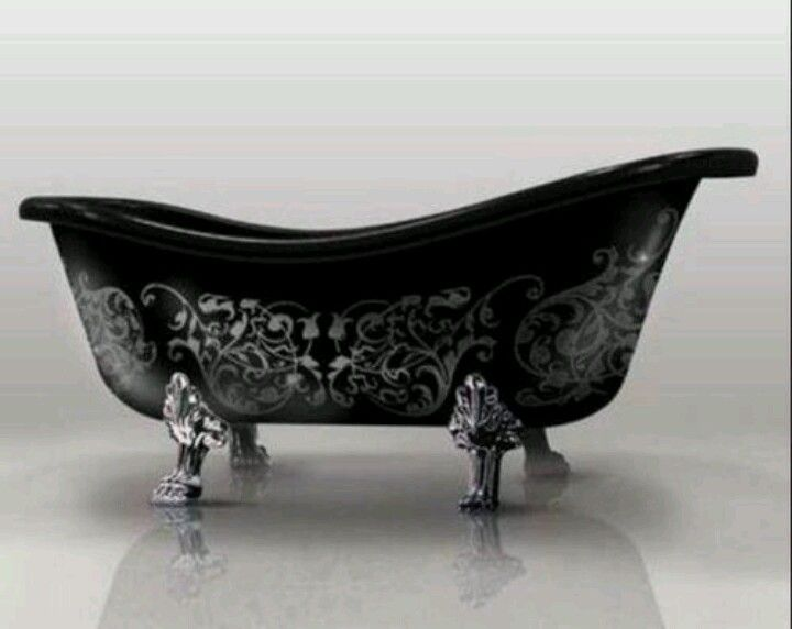 Gothic Clawfoot Tub Gothic Furniture Bathtub Design Gothic Decor