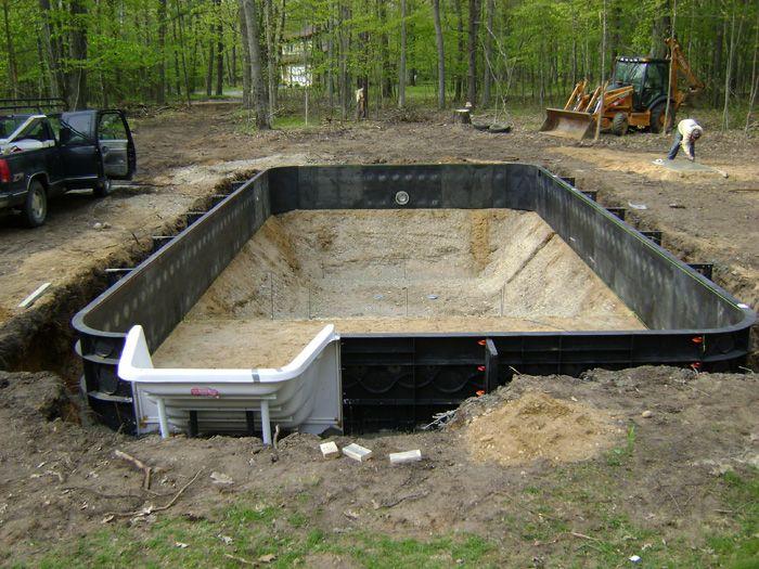 Polymer Pool Kits In 2019 Swimming Pool Pond Swimming