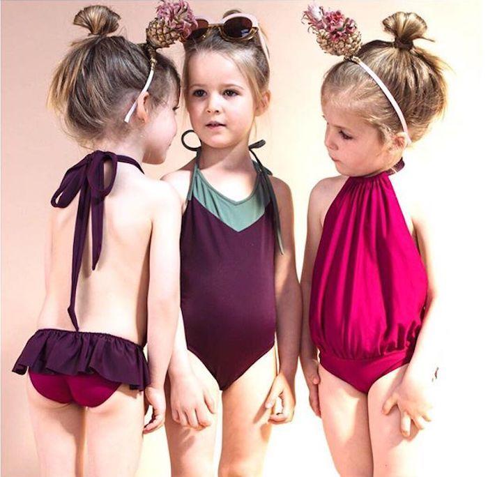 1e8a6556e Bqueenie bañadores para niña