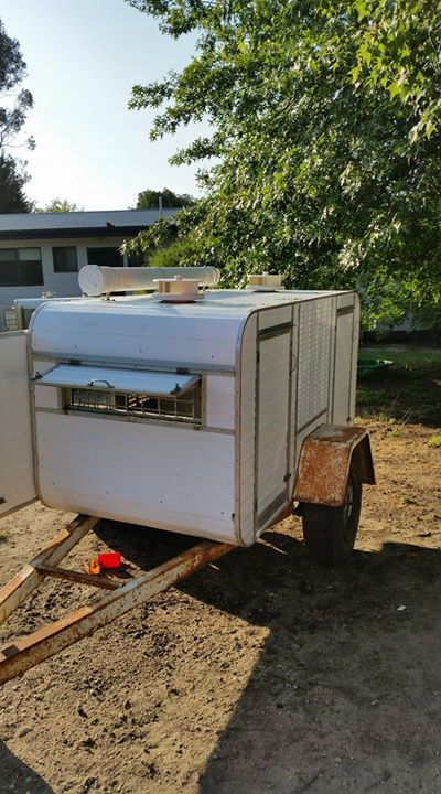 For Sale Dog Trailer Large 2 Berth 4 Doors Sturdy Trailer Just