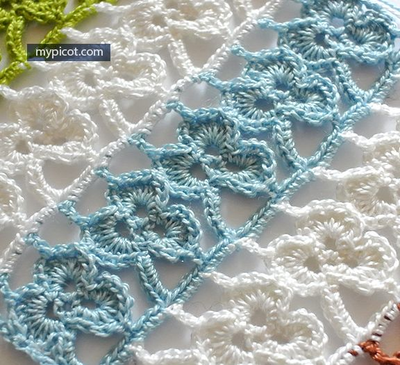 Mypicot Free Crochet Stitch Patterns Clover Crafty Lady