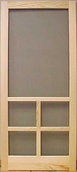 Builders Series: Value # 3 / Pine - Removable Screen
