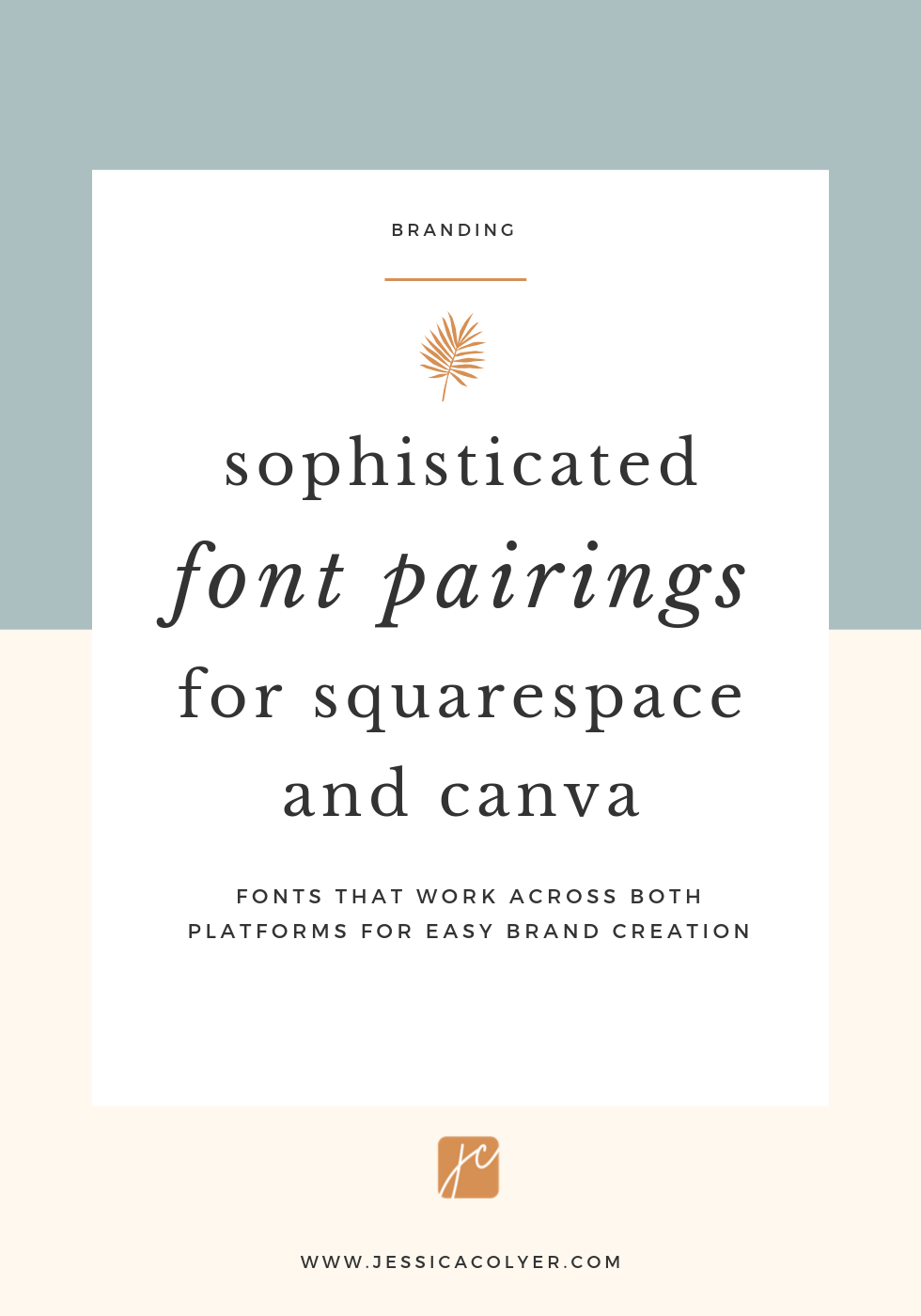 Sophisticated Font Pairings For Squarespace And Canva Here Are Three Favorite Font Combos Available On Both Squarespac Font Pairing Squarespace Website Fonts
