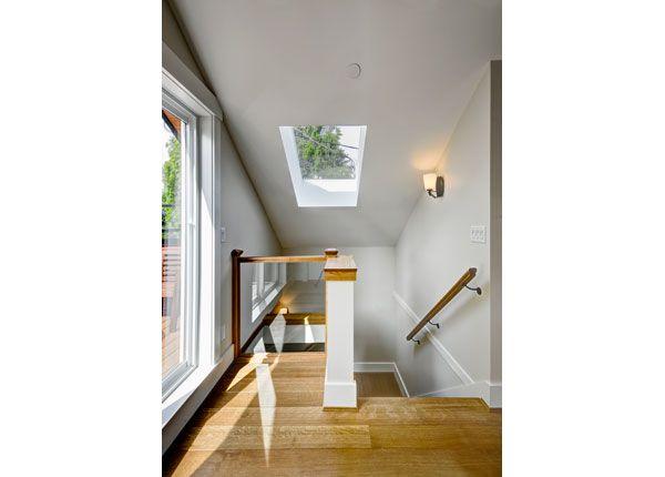 Interior of Dunbar Lane House, Vancouver, 485 sq ft