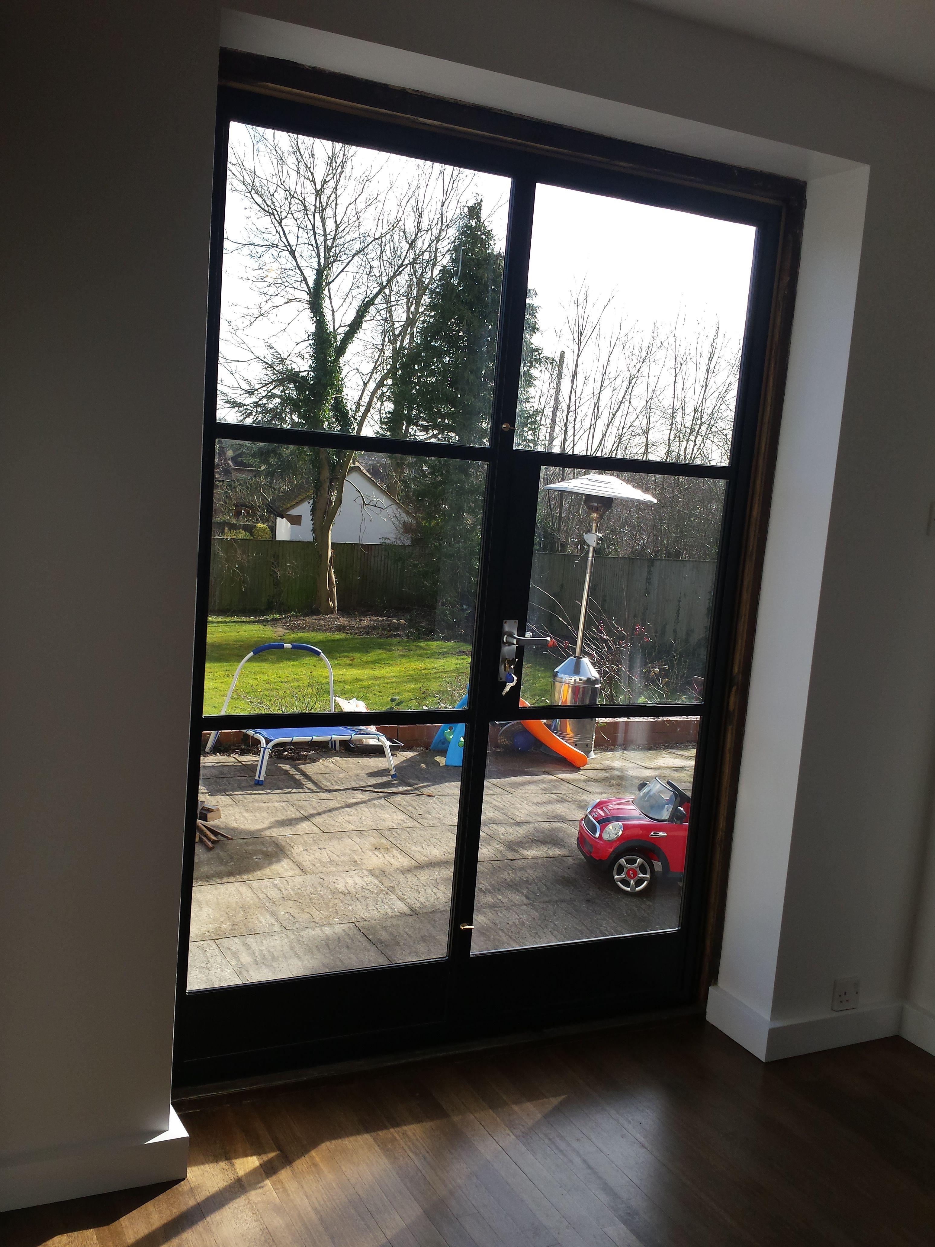 Crittall Double Doors By Lightfoot Windows Kent Ltd Kitchen Patio Doors External Double Doors Aluminium Doors