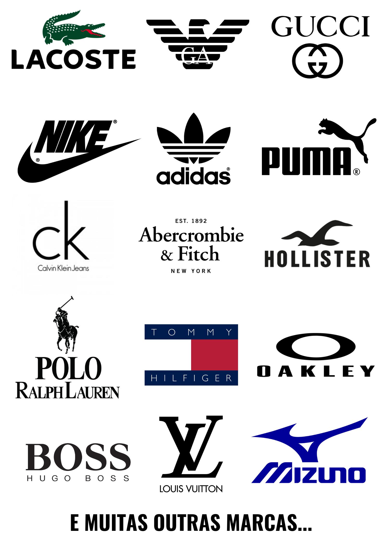Compre Com Ate 90 De Desconto Sports Brand Logos Clothing Brand Logos Brand Stickers