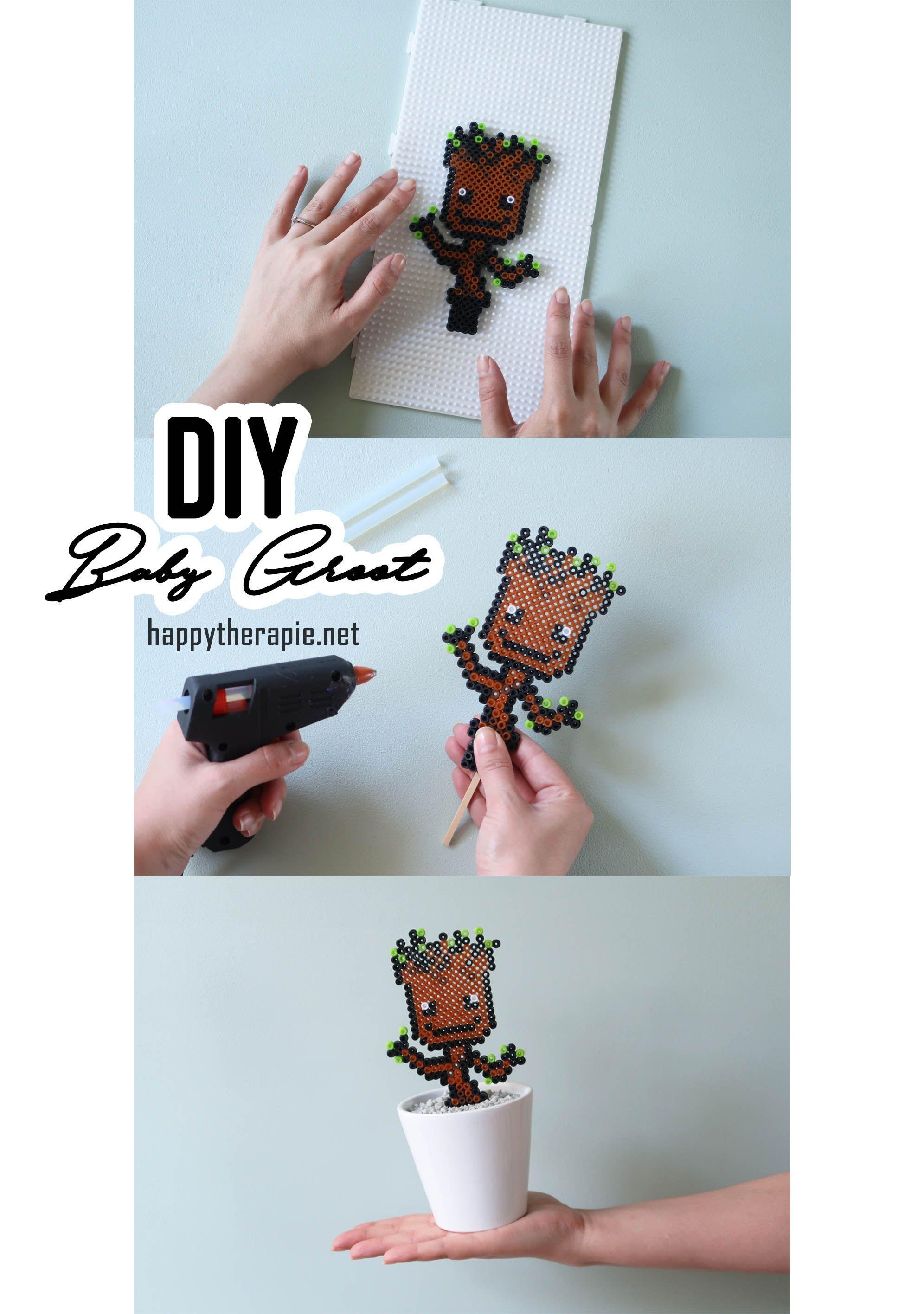 Diy Un Petit Tuto Pour Réaliser Un Pixel Art De Baby Groot