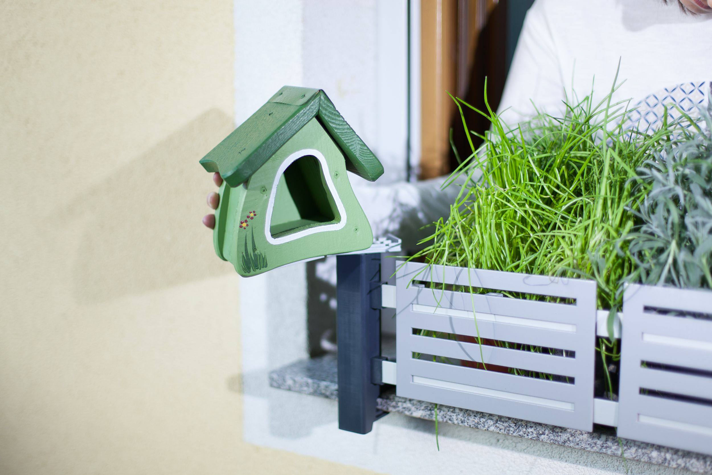 masu accessory - bird house gives animals new living space