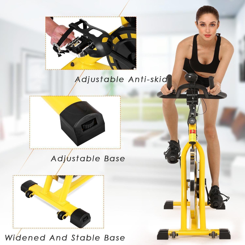 Mewalker Stationary Spin Bike Spinning Pro Indoor Cycling Bike