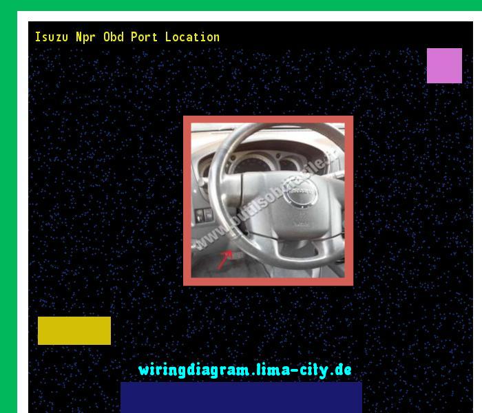 Isuzu npr obd port location. Wiring Diagram 185643. - Amazing Wiring on