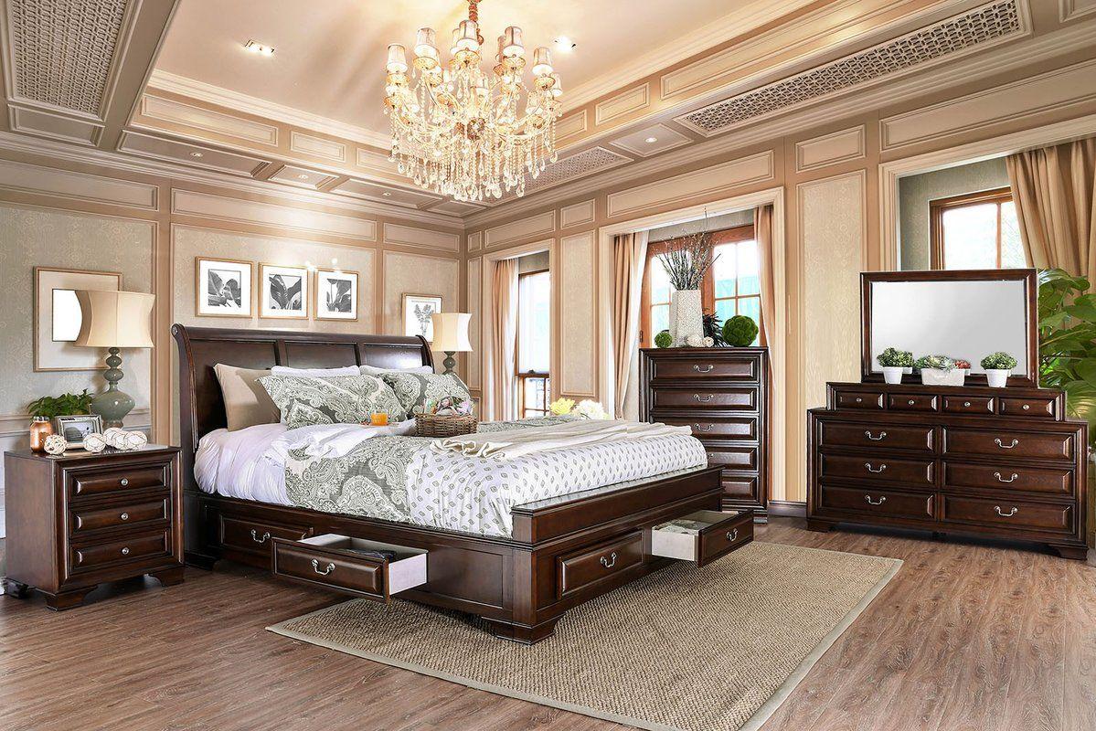 Canora Grey Crowborough Sleigh Configurable Bedroom Set & Reviews