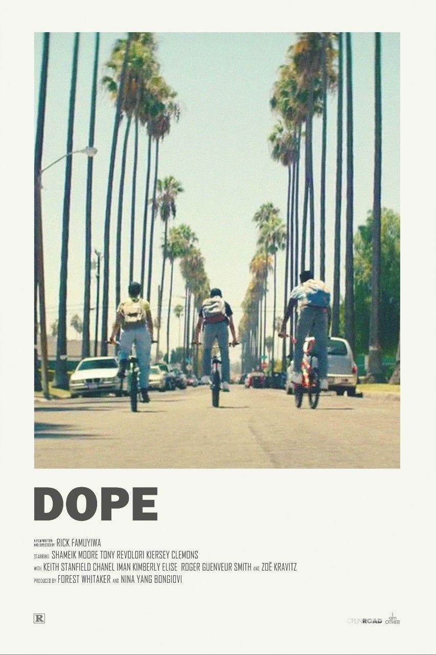 Dope (2015) #filmposterdesign