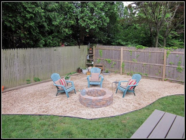 17 Gravel Patio Fire Pit Ideas Backyard Landscaping Backyard Patio Fire Pit