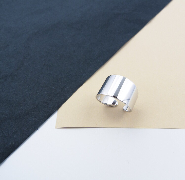 Silver Ring @ohcarojewelry