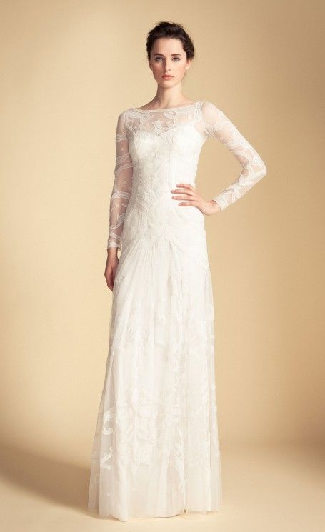 Long Francine Tattoo Dress | Evening Dress | Temperley London ...