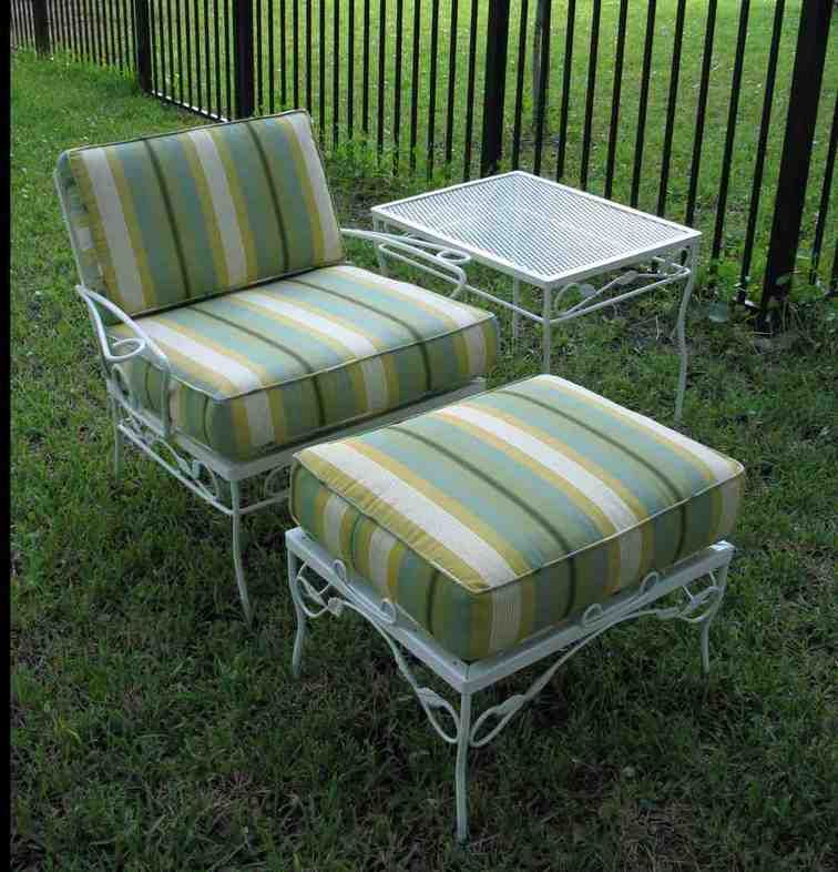 Replacement Patio Chair Cushions Vintage Patio Furniture