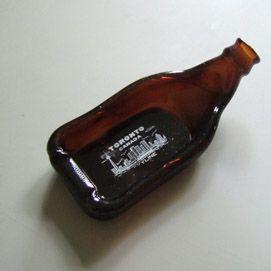 Toronto Melted Beer Bottle Dish - 2005