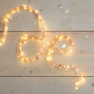 Fairy Lights 8 Strand Spray 120 Led 3 8 Ft Copper Wire