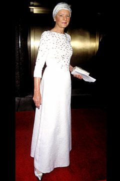 C.Z. Guest, at the 2001 FiFi Awards. Photo by Andrea Renault