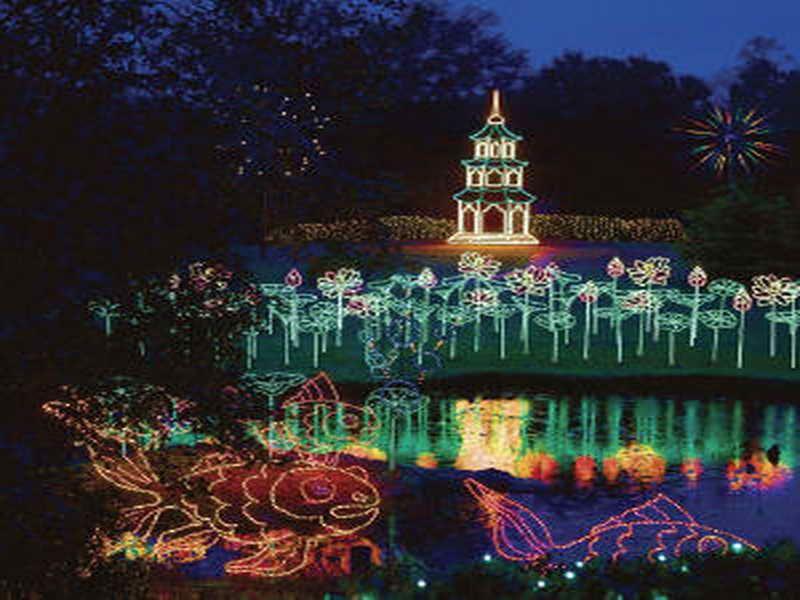 Bellingrath Gardens Christmas Lights Callaway gardens