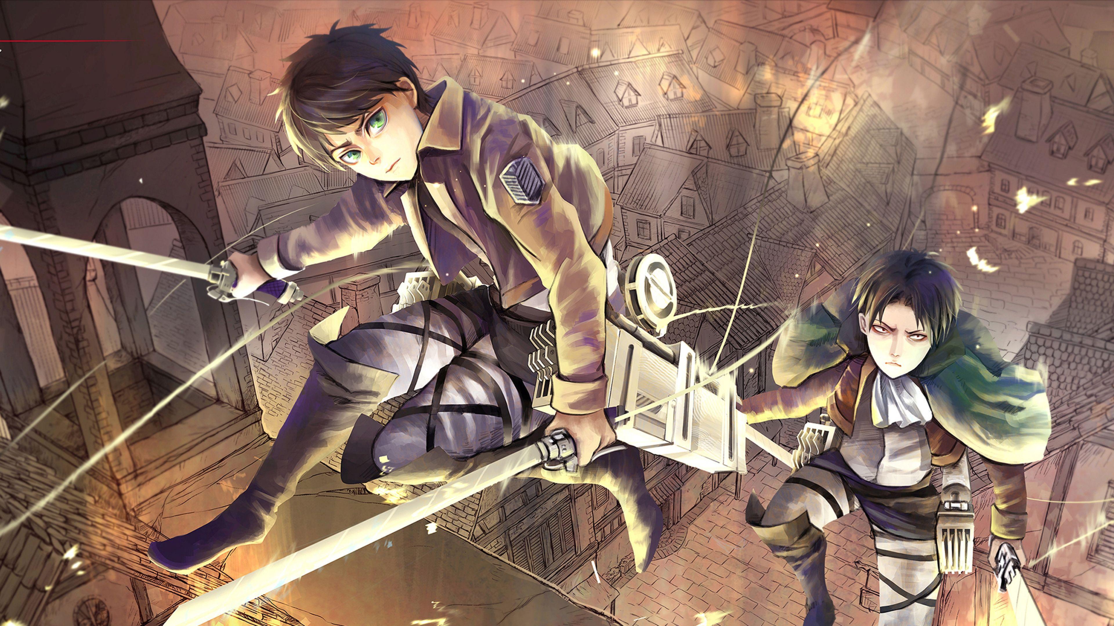 Anime Shingeki No Kyojin Wallpaper