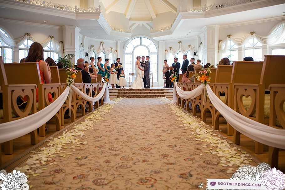 Disney Grand Floridian Wedding Pavilion
