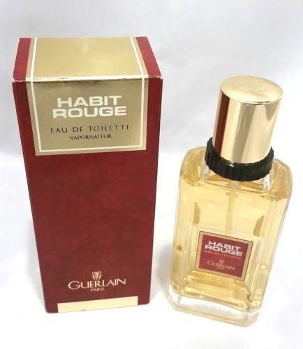 habit rouge cologne for men by guerlain eau de toilette spray vintage cologne for man. Black Bedroom Furniture Sets. Home Design Ideas