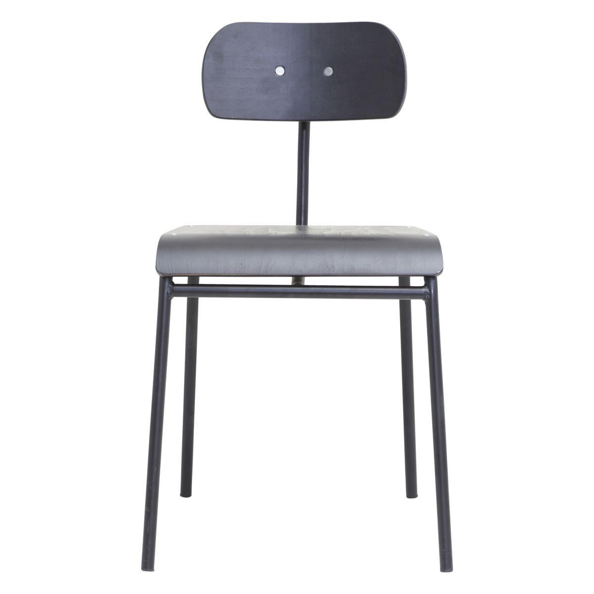 Dining Chair School Black Chairs Kitchen