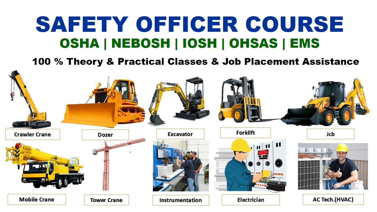 Heavy equipment training, Heavy equpment training course