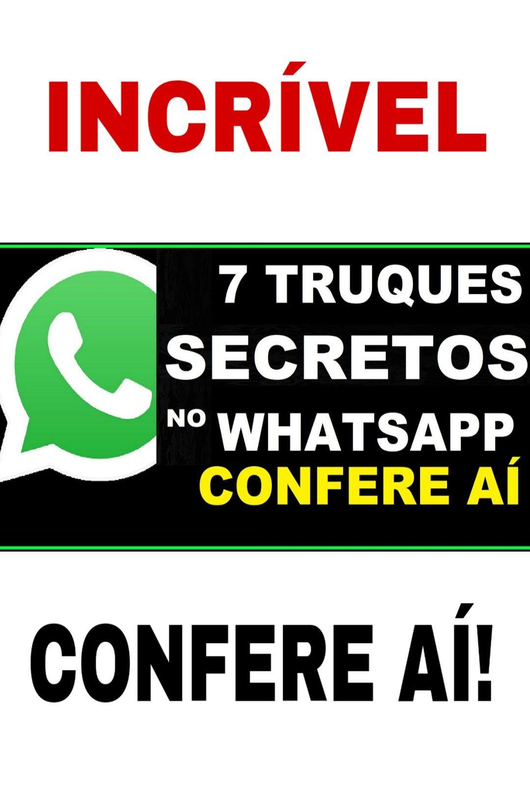 truques do whatsapp 7 TRUQUES PARA WHATSAPP REVELADOS