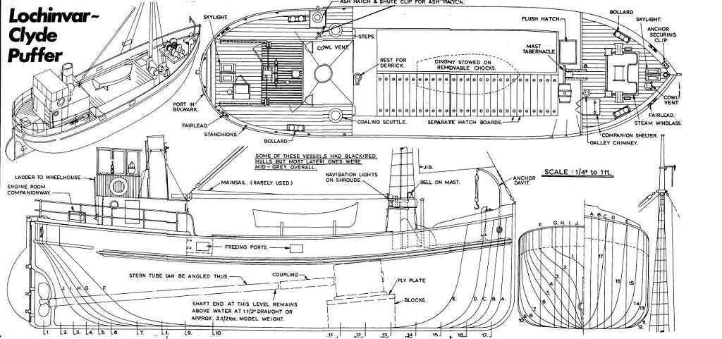 Free Model Ship Plans, Blueprints, Drawings and anything related ...