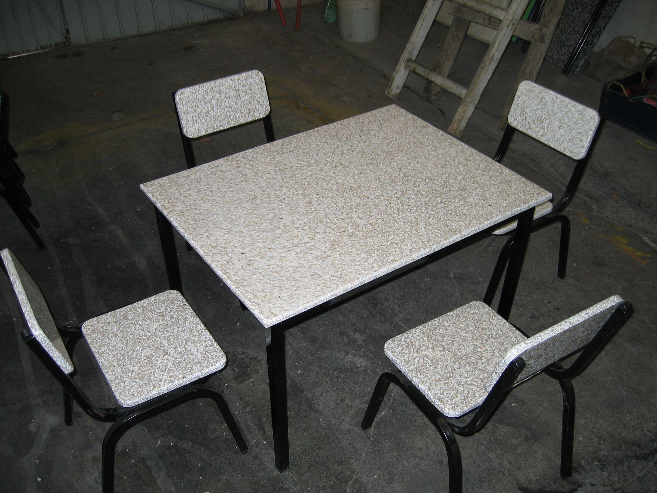 mobiliario fabricado con tablas de plastico reciclado | muebles de ...
