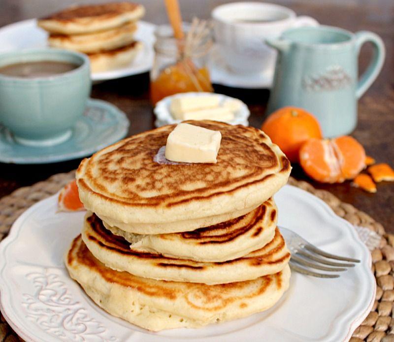 Old Fashioned Buttermilk Pancakes Earthly Taste Fruhstuck Waffeln Pfannkuchen