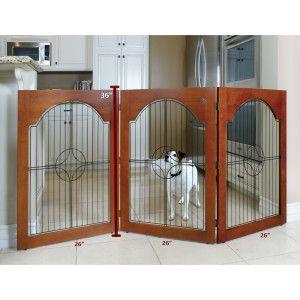 Majestic Pet Universal Free Standing Pet Gate Pet Gate Dog Gate Freestanding Pet Gate