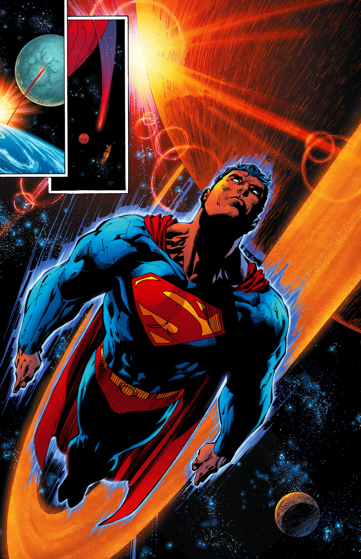 Superman art by Jim Lee. Batman and superman, Superman