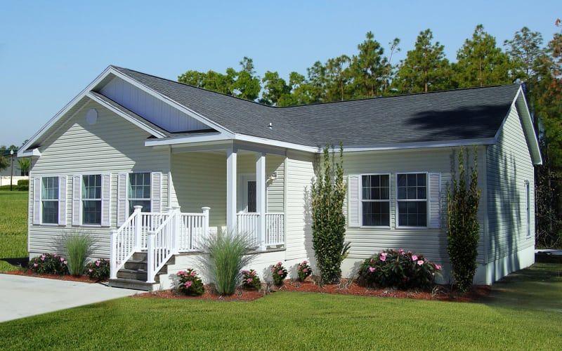 Addison exterior country house design modular home