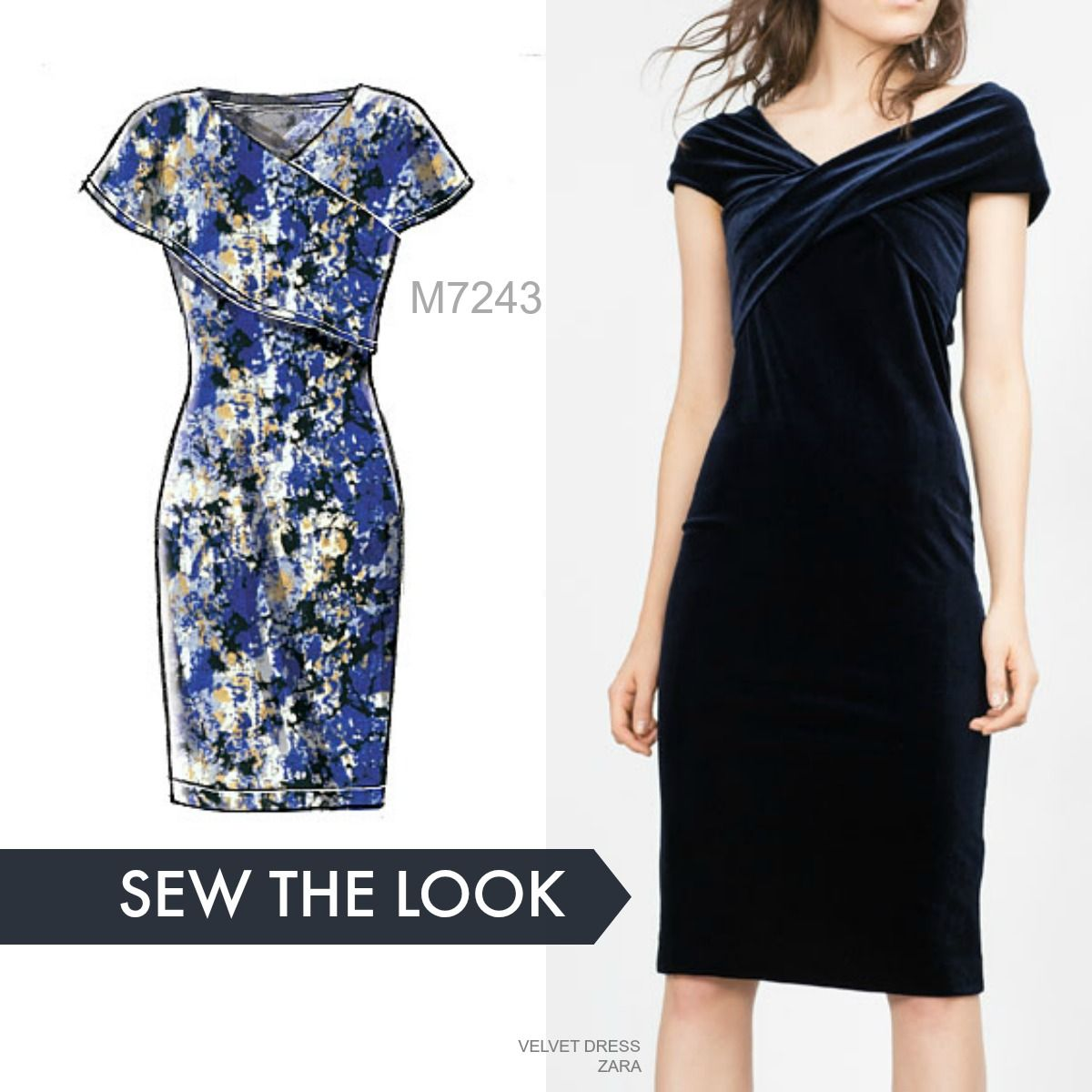 Found: the perfect holiday party dress. Sew the look with McCall\'s ...