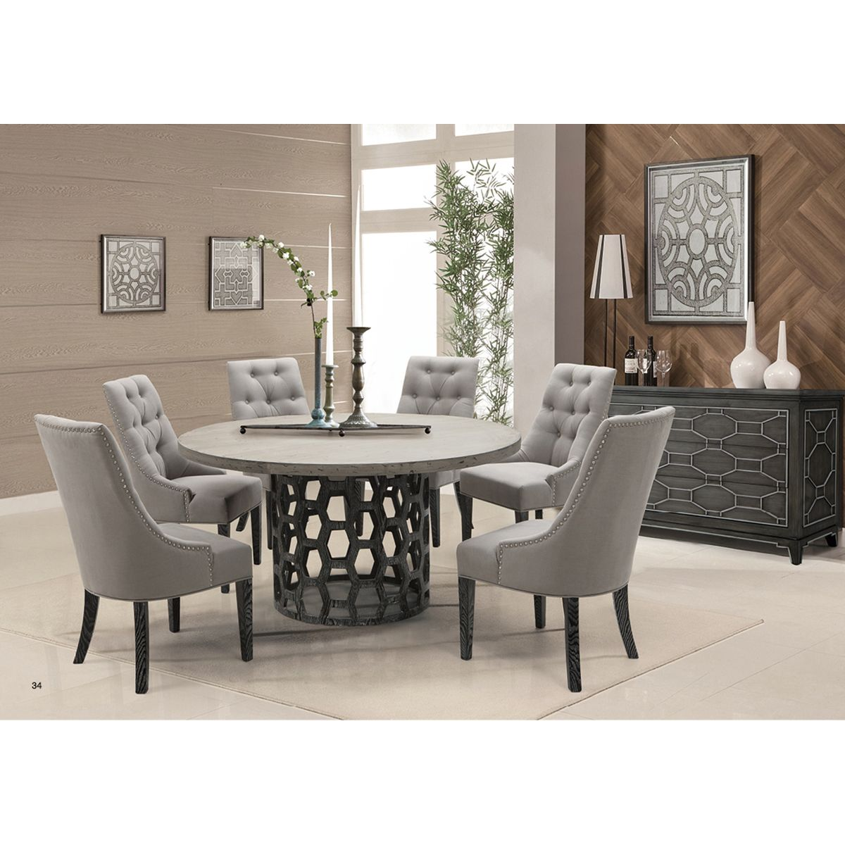 Centennial dining table comedores decoraci n y comedor for Ver comedores modernos