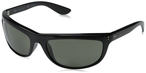 83c02e1776734a RayBan Sunglasses RB4089 Balorama Frame Black Lens Crystal Green Polarized     Read more reviews of the product by visiting the link on the image.