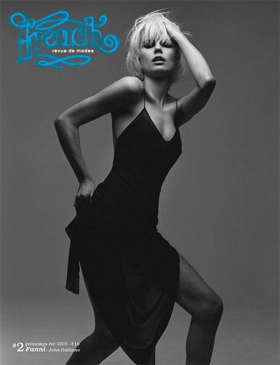 French Revue de Modes Magazine Cover Photoshoot