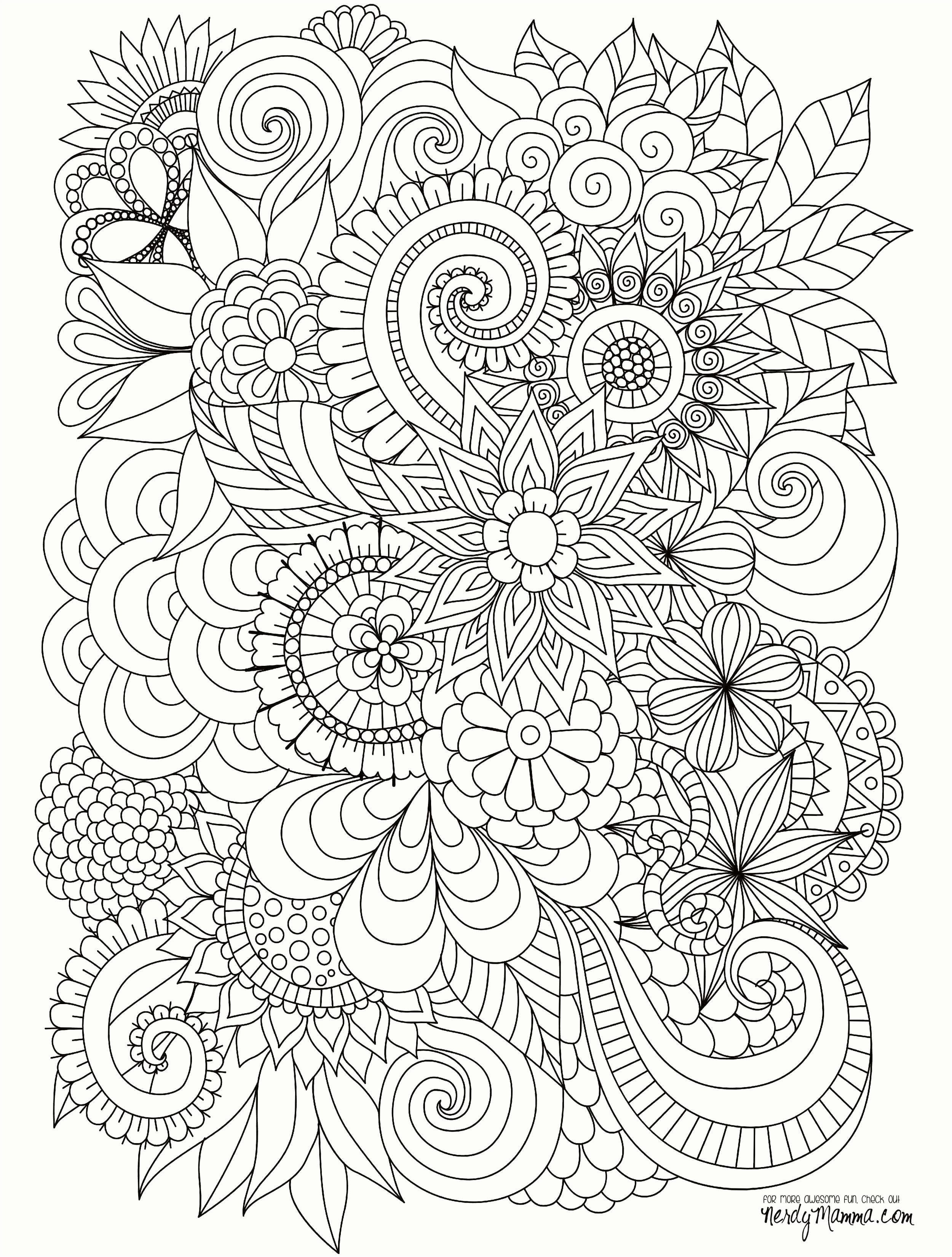Coloring Pages Flowers For Adults Elegant 21 All Coloring Pages Gallery Coloring Sheets Halaman Mewarnai Bunga Buku Mewarnai Halaman Mewarnai [ 3300 x 2500 Pixel ]
