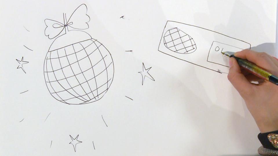 teken je eigen discobal met discobal tekenen