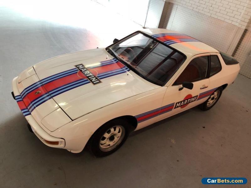 Rare 1977 Porsche 924 Martini Rossi Championship Edition