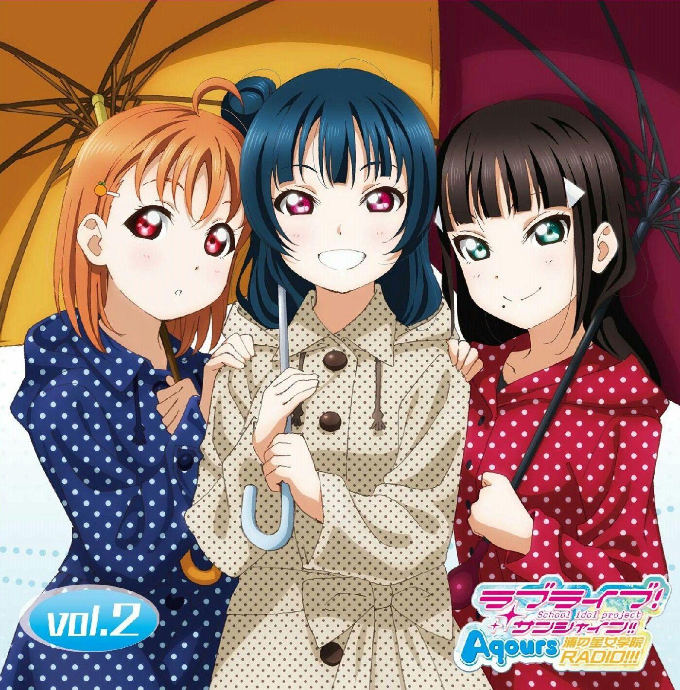 Aqours | Love Live! (ラブライブ! ) | Anime love, Love, Kawaii anime