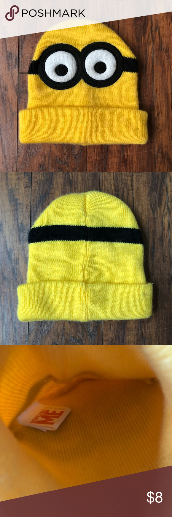 c4f935261e8 EUC Minion Beanie Excellent used condition Worn once Super cute 💋Why to  shop MY closet